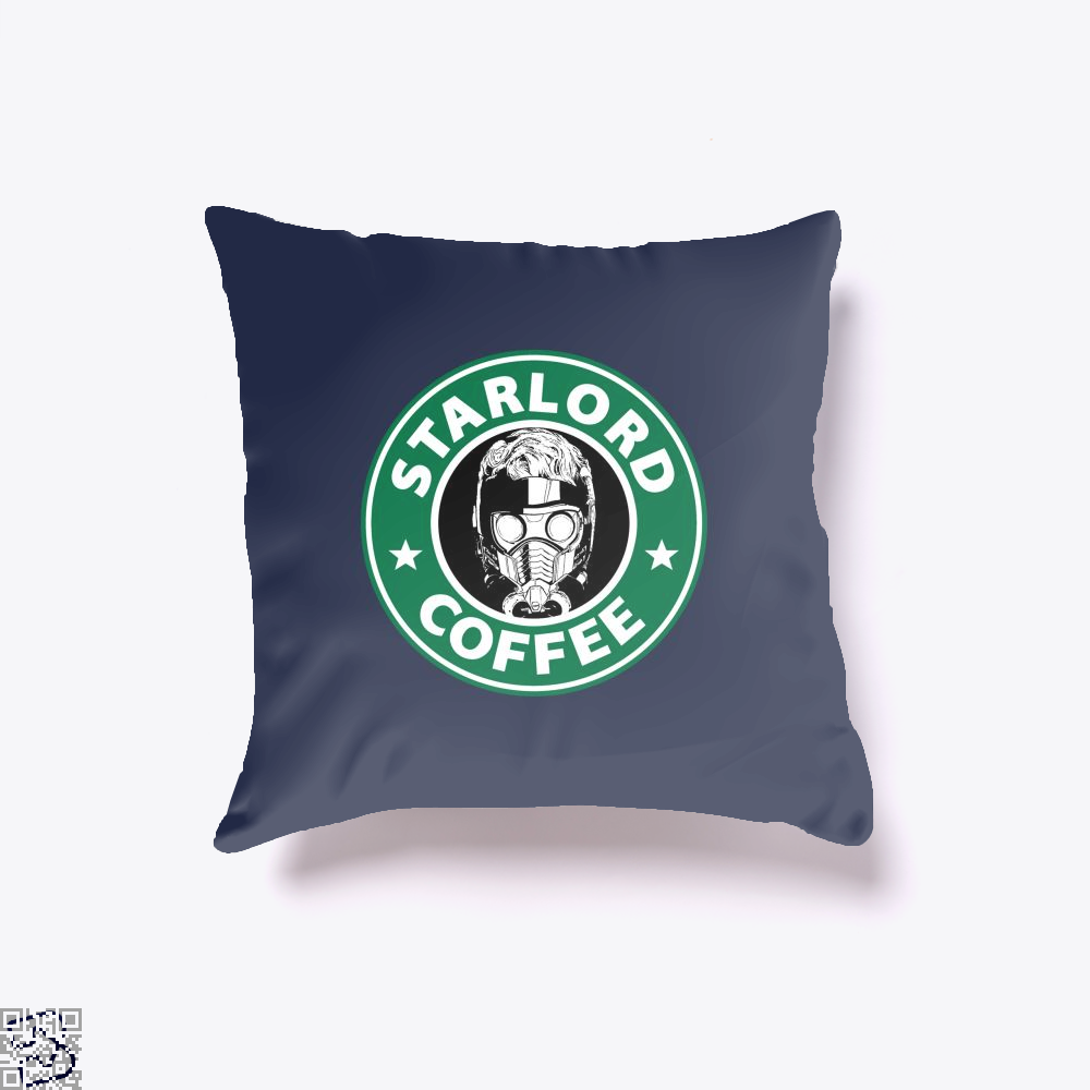 Starlord Coffee Guardians Of The Galaxy Throw Pillow Cover - Productgenjpg
