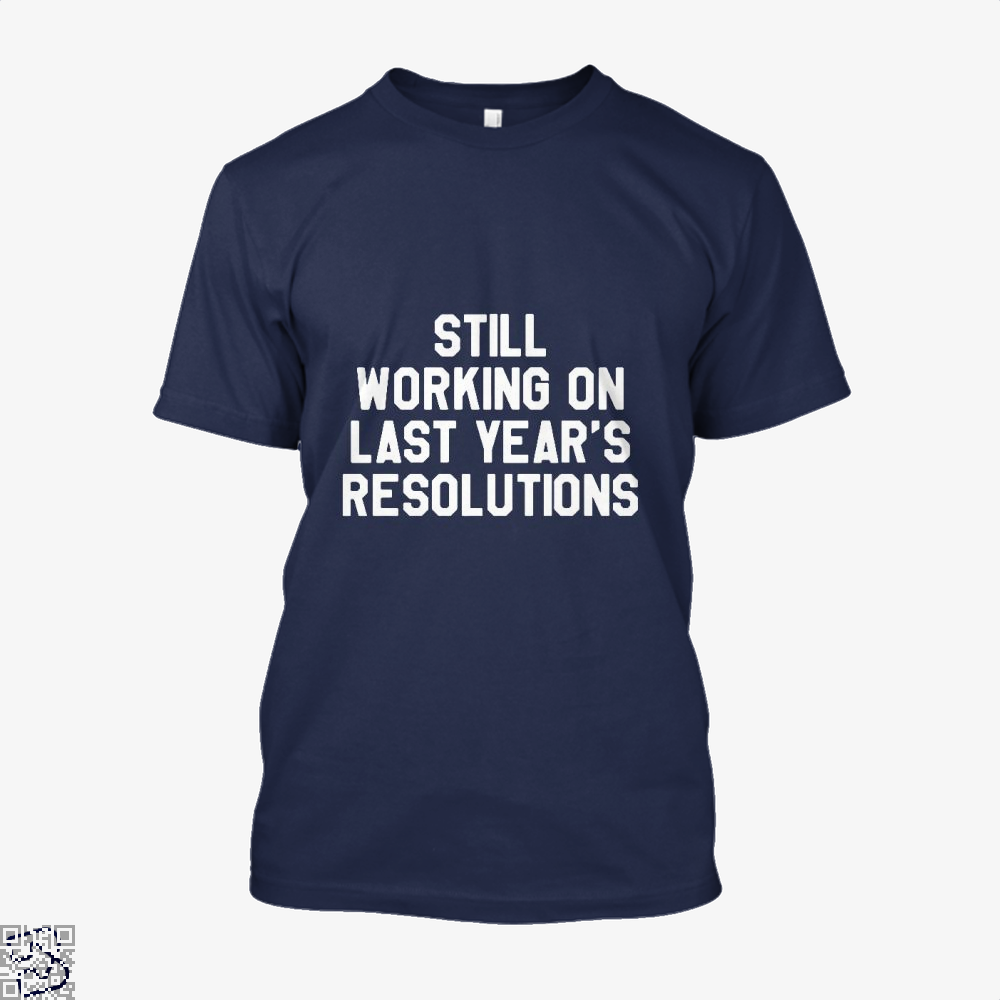 Still Working On Last Years New Year Shirt - Men / Blue / X-Small - Productgenjpg