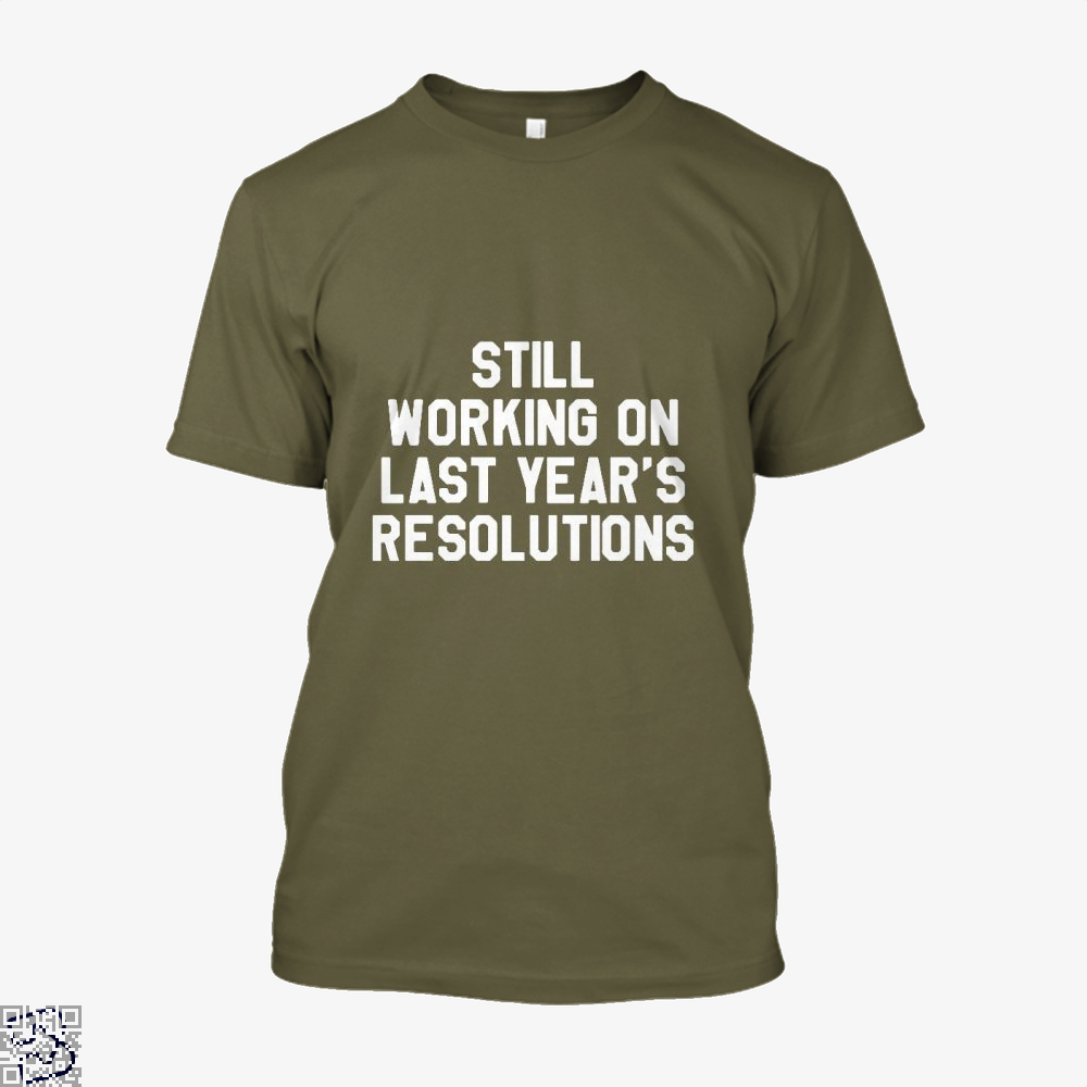 Still Working On Last Years New Year Shirt - Men / Brown / X-Small - Productgenjpg
