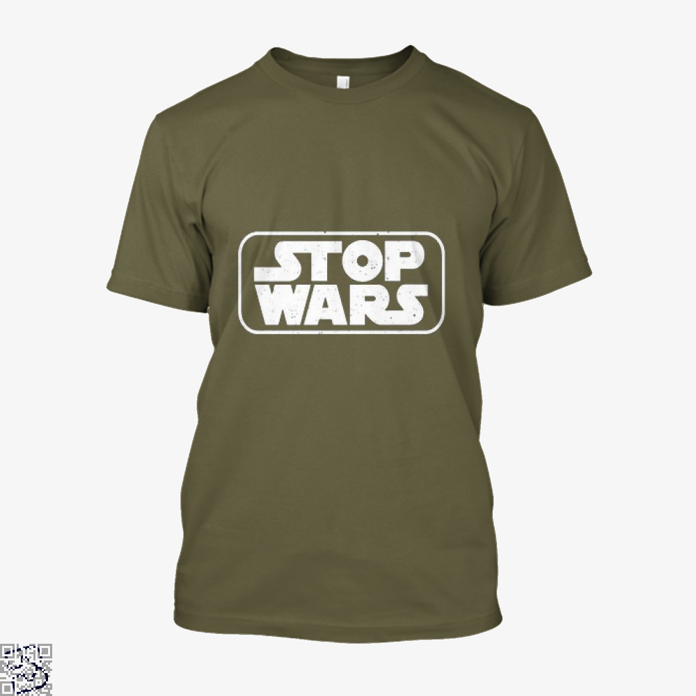 Stop Wars Philadelphia Football Fans Shirt - Men / Brown / X-Small - Productgenjpg