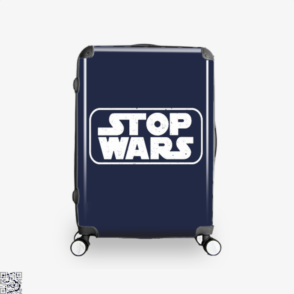 Stop Wars Philadelphia Football Fans Suitcase - Productgenjpg
