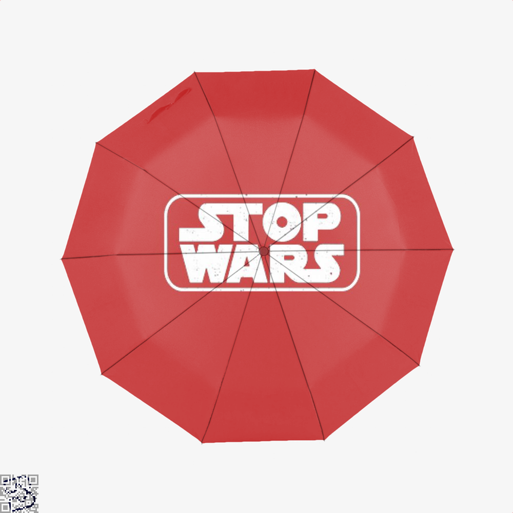 Stop Wars Philadelphia Football Fans Umbrella - Red - Productgenjpg