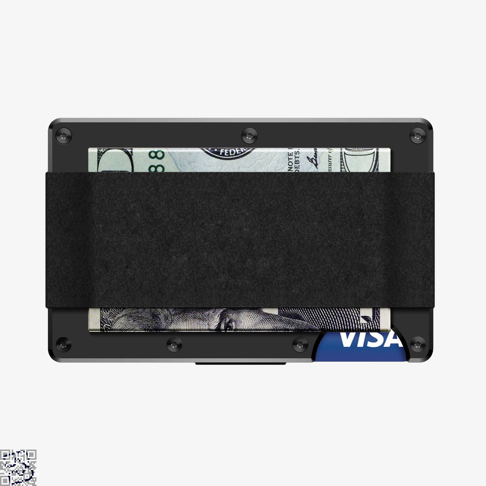 Nock Nock Whos There Two Arrows, Archery Aluminum Wallet