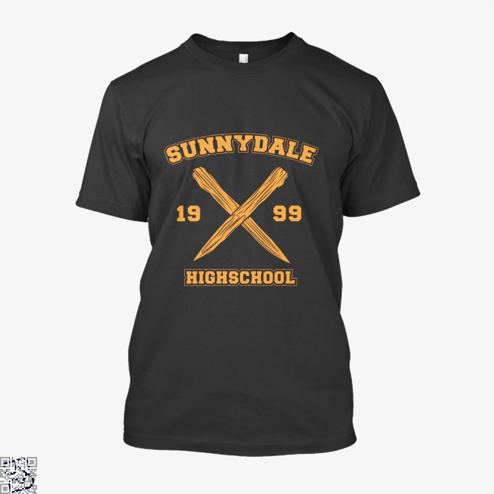 Sunnydale Highschool Buffy The Vampire Slayer Shirt - Men / Black / X-Small - Productgenjpg
