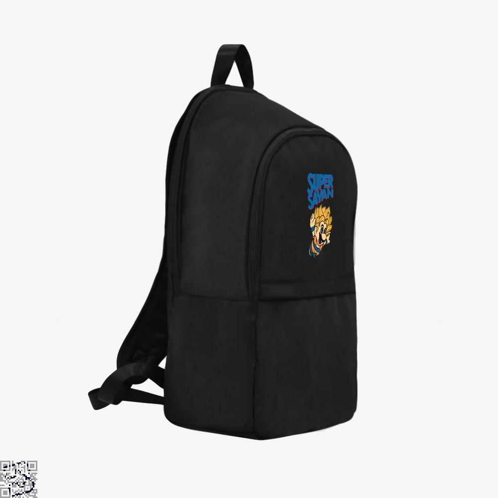 Super Mario Saiyan Dragon Ball () Backpack - Productgenjpg