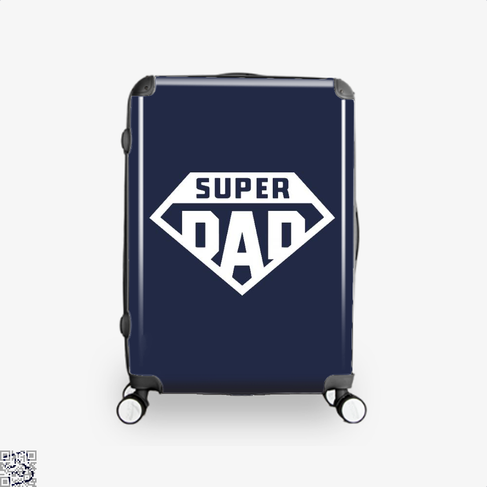 Superdad Fathers Day Suitcase - Blue / 16 - Productgenapi
