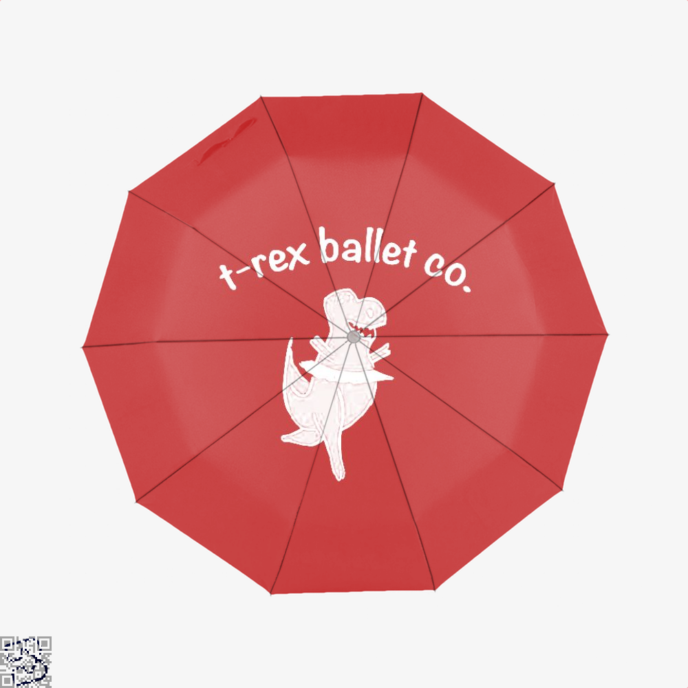 T-Rex Ballet Kids Juvenile Umbrella - Red - Productgenjpg