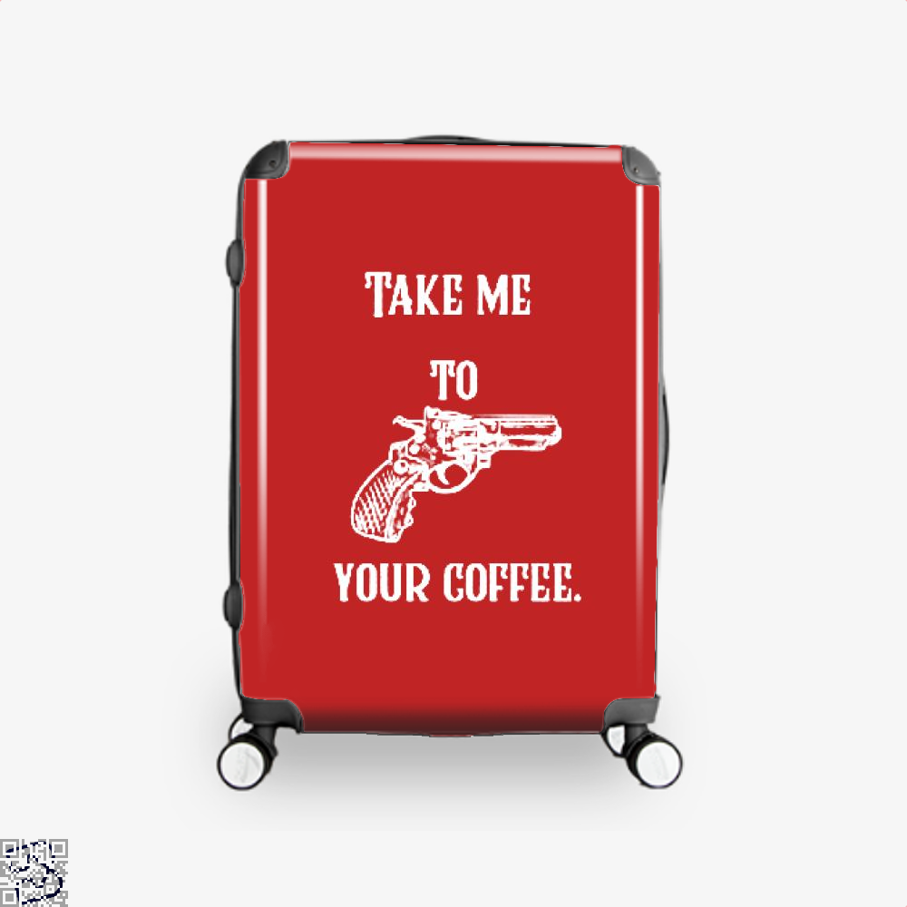 Take Me To Your Coffee Suitcase - Red / 16 - Productgenapi