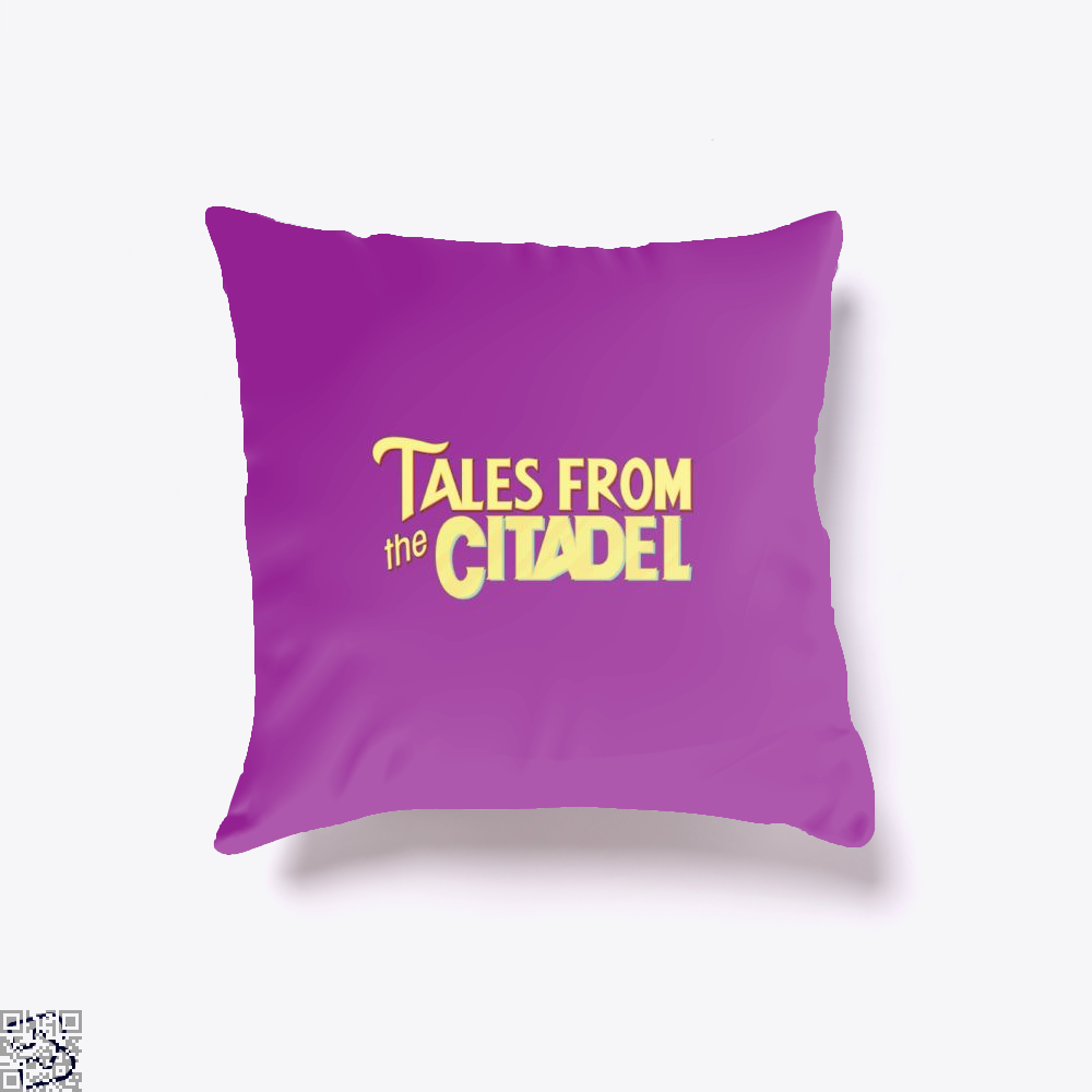 Tales From The Citadel Rick And Morty Throw Pillow Cover - Purple / 16 X - Productgenjpg