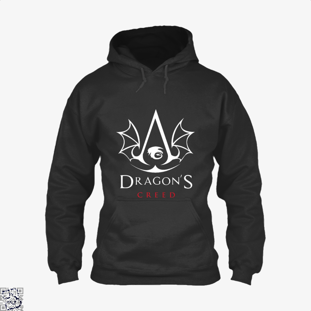 The Dragons Creed Assassins Hoodie - Black / X-Small - Productgenjpg