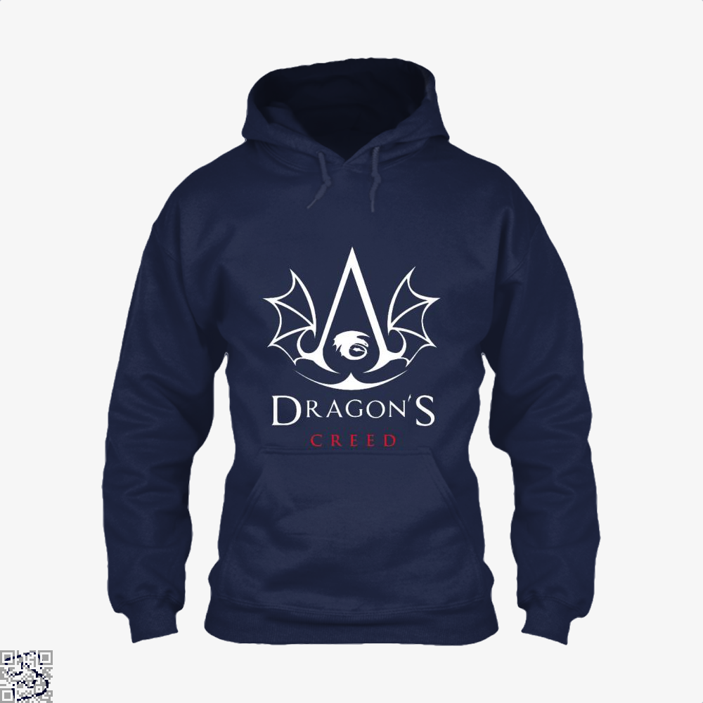 The Dragons Creed Assassins Hoodie - Blue / X-Small - Productgenjpg