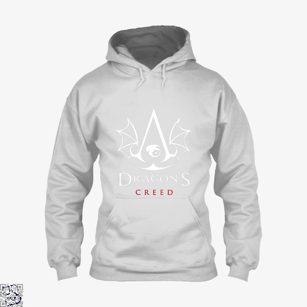 The Dragons Creed Assassins Hoodie - White / X-Small - Productgenjpg