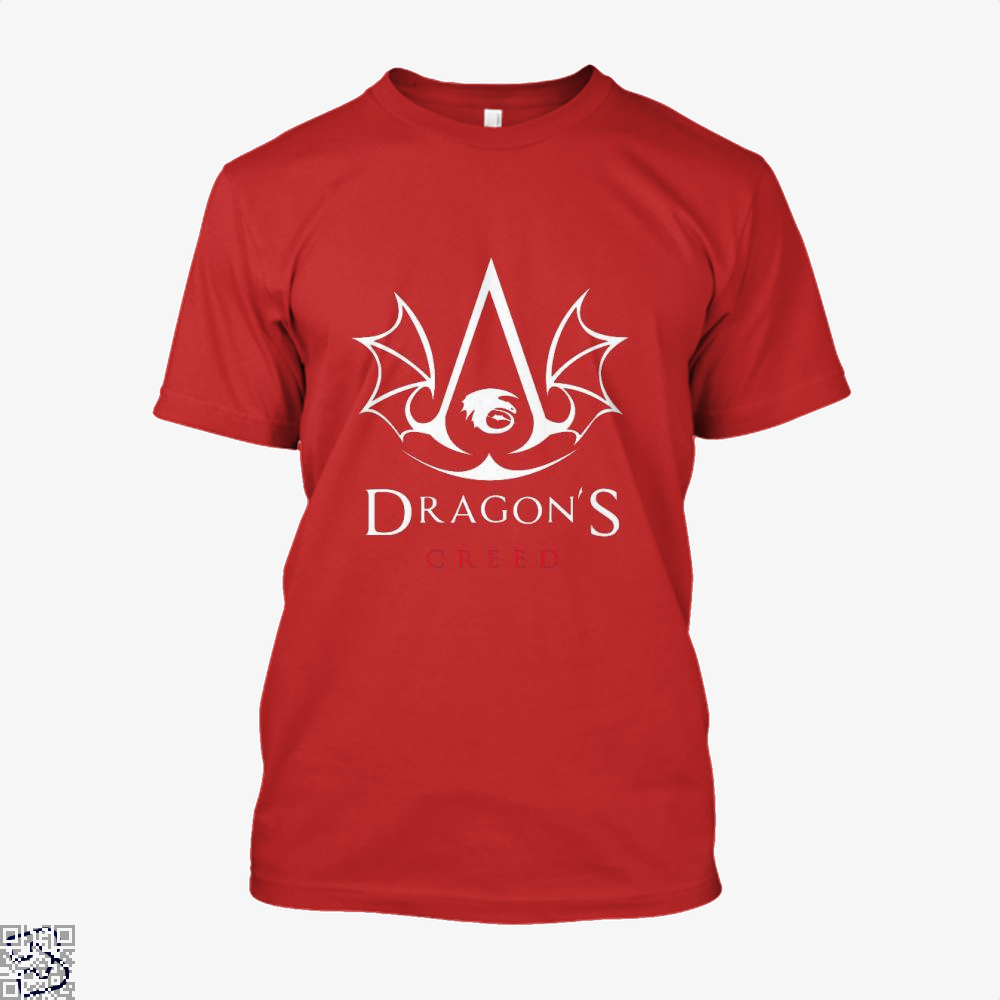 The Dragons Creed Assassins Shirt - Men / Red / X-Small - Productgenjpg