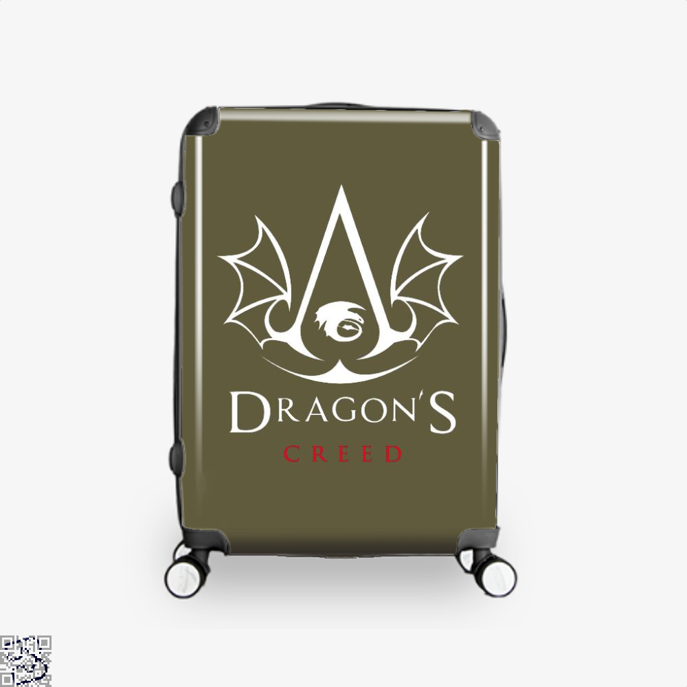 The Dragons Creed Assassins Suitcase - Brown / 16 - Productgenjpg
