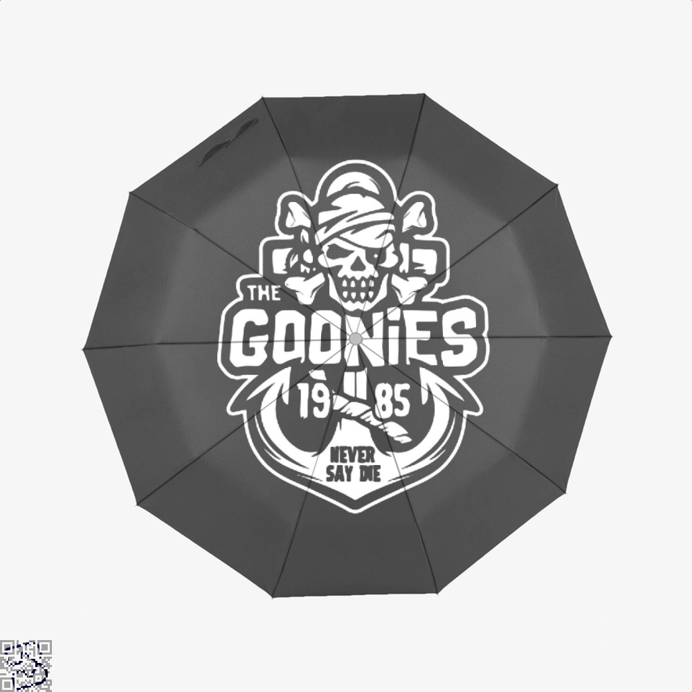 The Goonies Never Say Die 1985 Umbrella - Black - Productgenapi