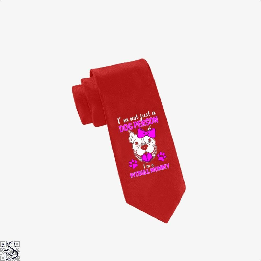 The Pit Bull Mommy Pitbull Tie - Red - Productgenjpg