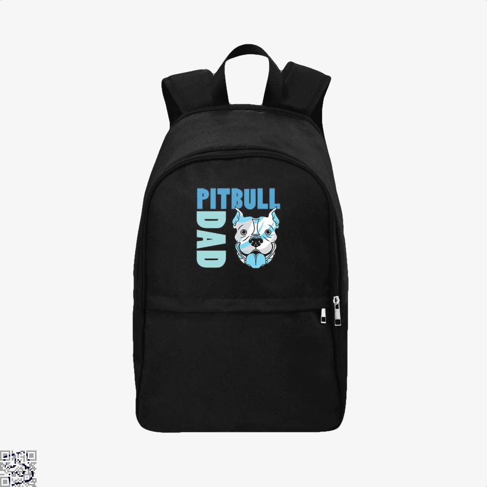 The Pitbull Blue Pit Bull Dad Backpack - Black / Adult - Productgenjpg