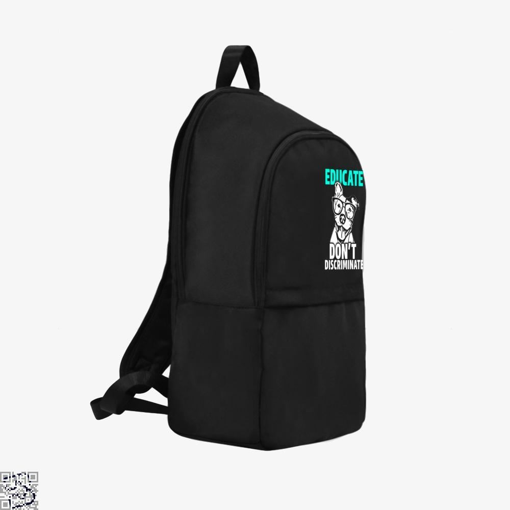 The Pitbull Educate Backpack - Productgenjpg