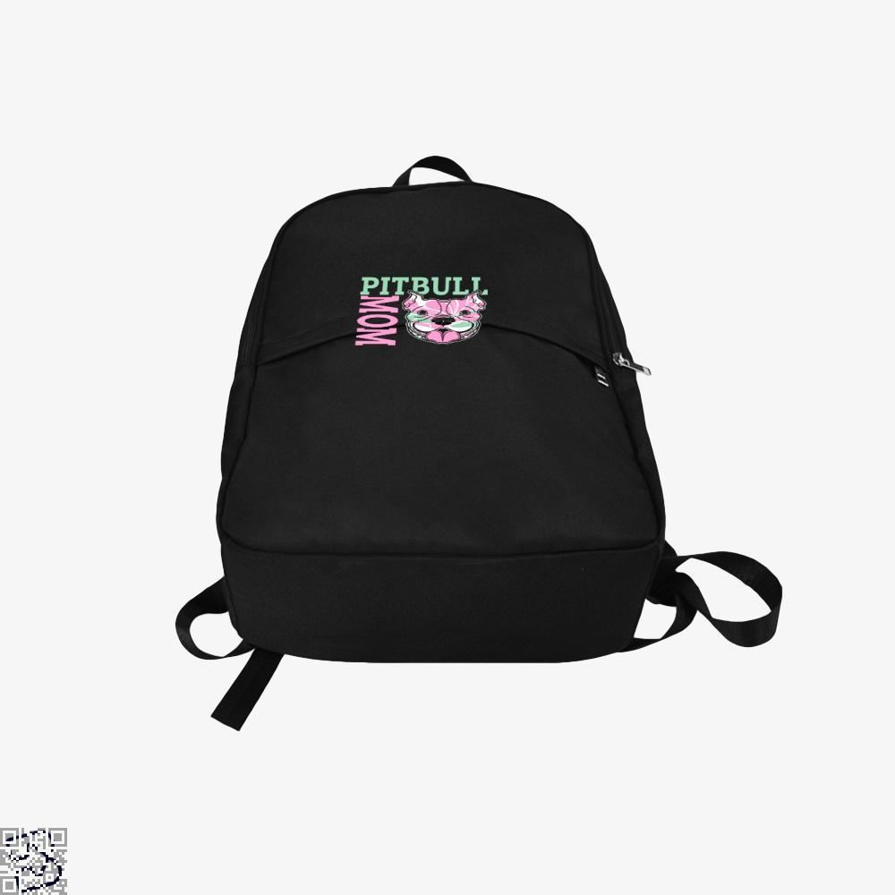 The Pitbull Pink Pit Bull Mom Backpack - Productgenjpg