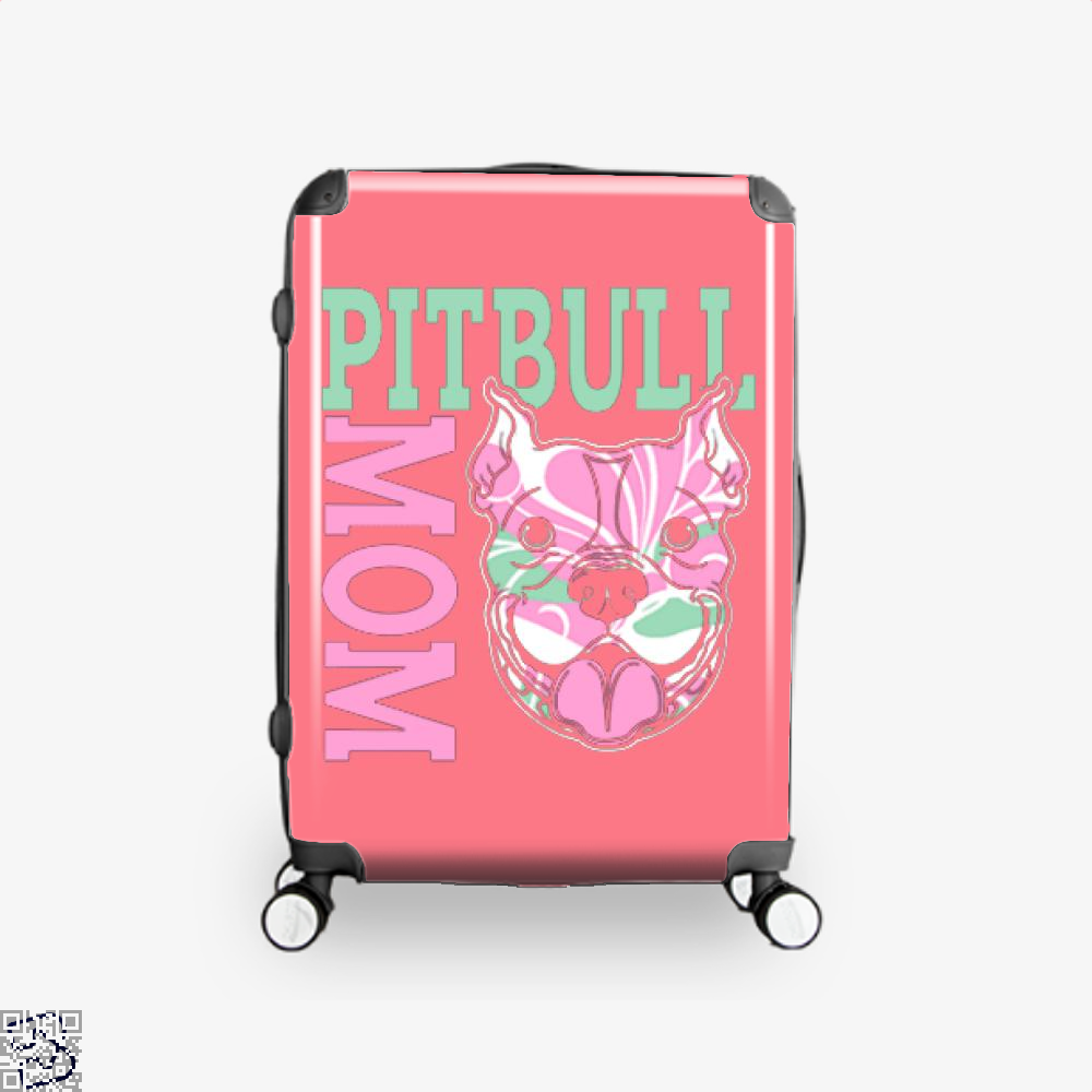 The Pitbull Pink Pit Bull Mom Suitcase - / 16 - Productgenjpg
