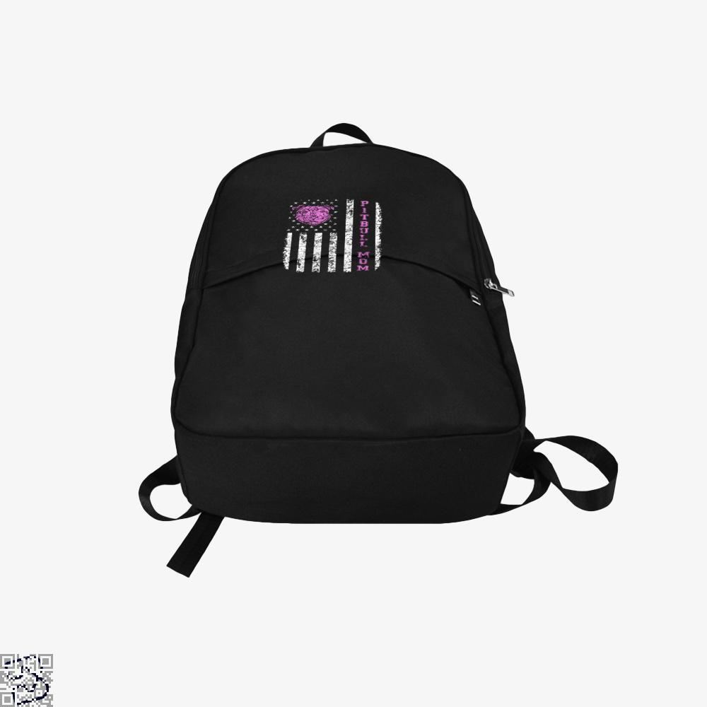 The Pitbull Pit Bull Mom Flag Backpack - Productgenjpg