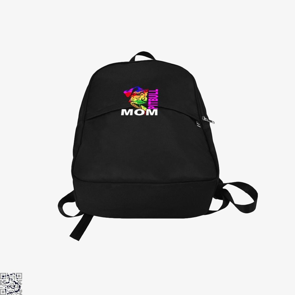 The Pitbull Rainbow Pit Bull Mom Backpack - Productgenjpg