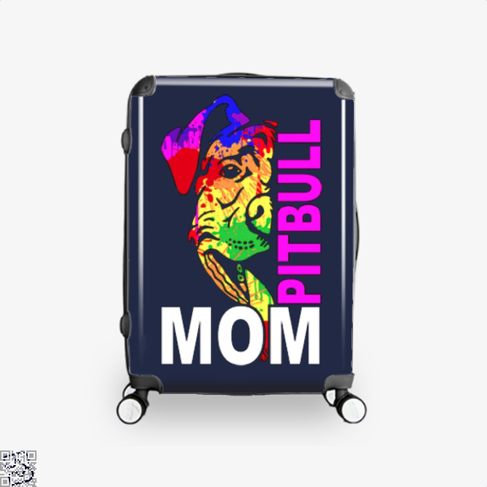 The Pitbull Rainbow Pit Bull Mom Suitcase - Blue / 16 - Productgenjpg
