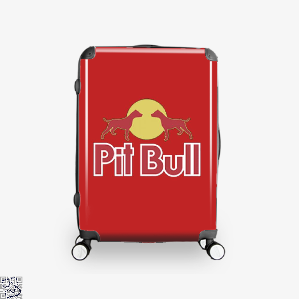 The Pitbull Two Red Pit Bull Suitcase - / 16 - Productgenjpg