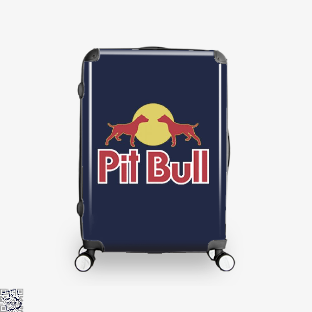 The Pitbull Two Red Pit Bull Suitcase - Blue / 16 - Productgenjpg