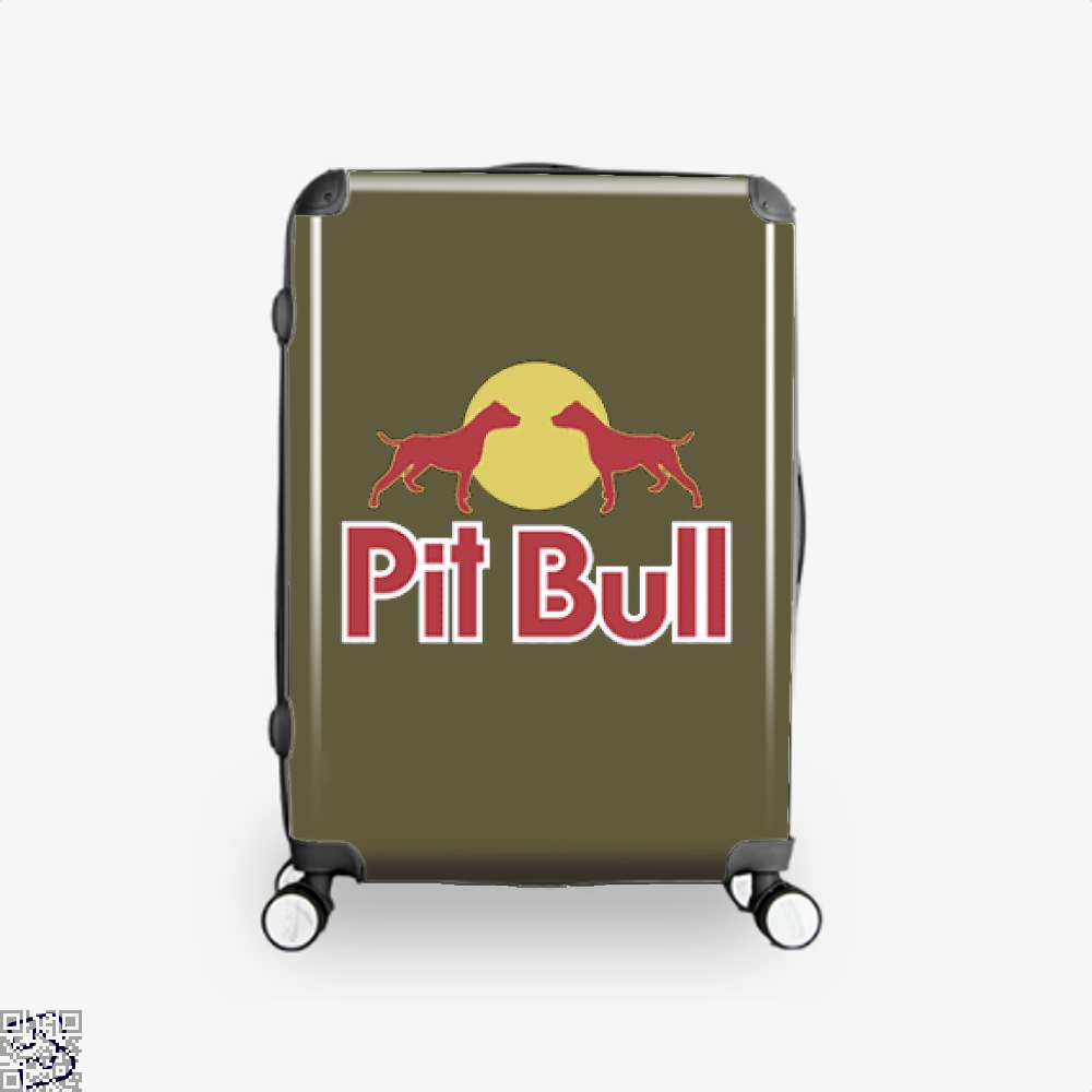 The Pitbull Two Red Pit Bull Suitcase - Brown / 16 - Productgenjpg