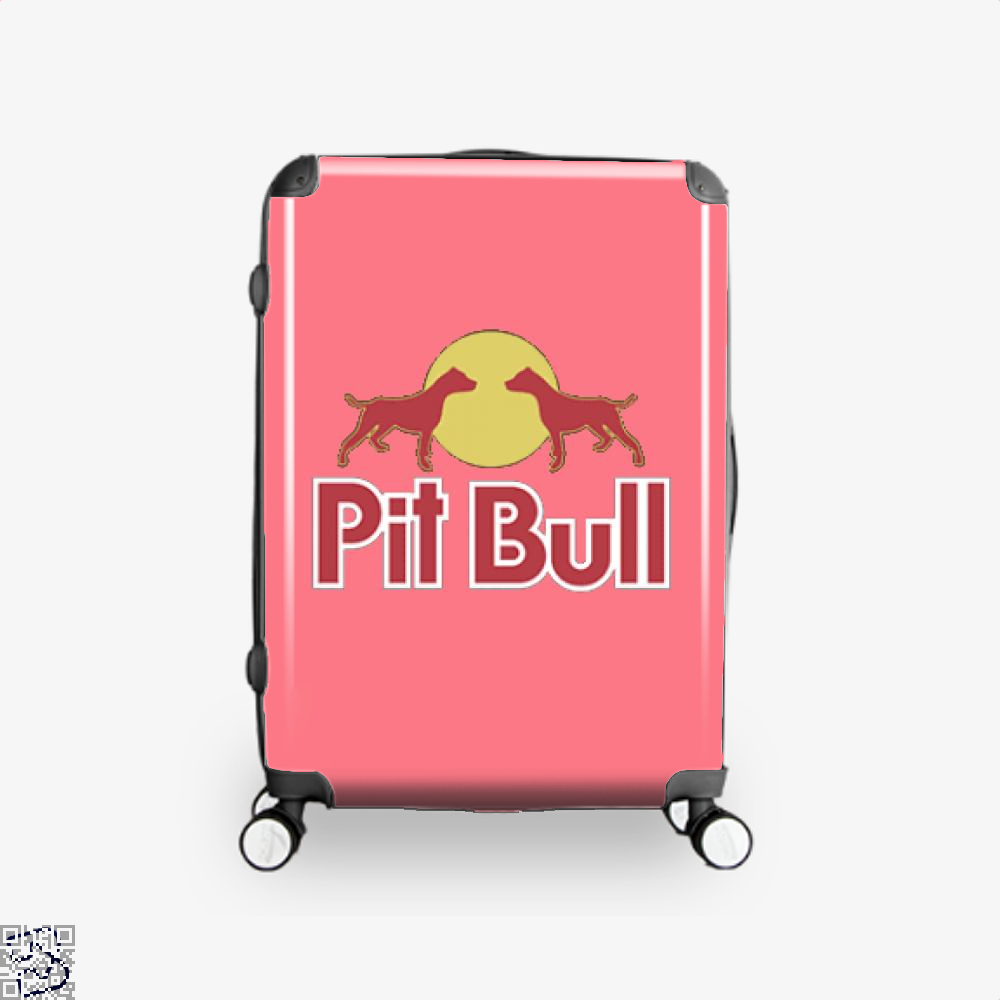 The Pitbull Two Red Pit Bull Suitcase - Pink / 16 - Productgenjpg