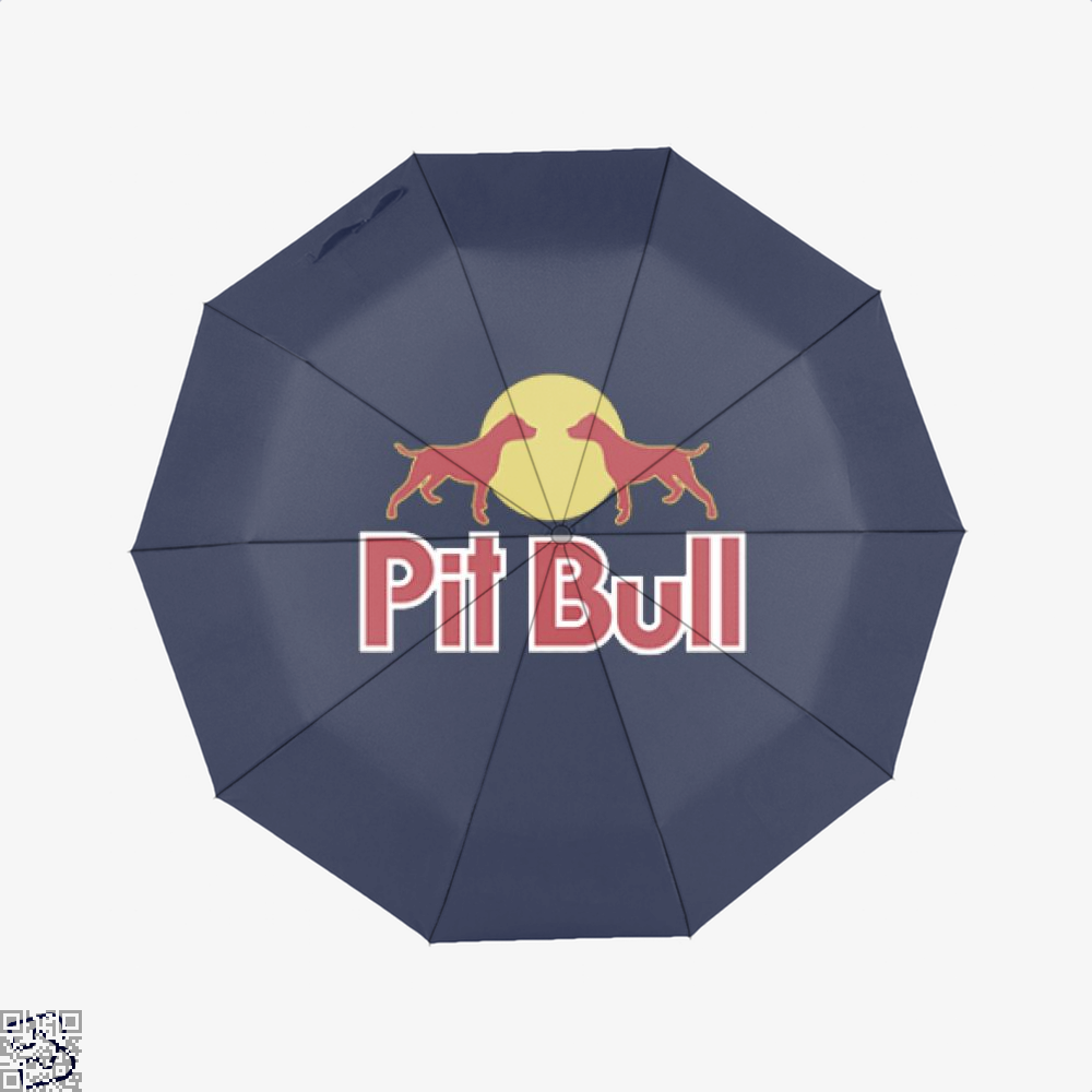 The Pitbull Two Red Pit Bull Umbrella - Blue - Productgenjpg