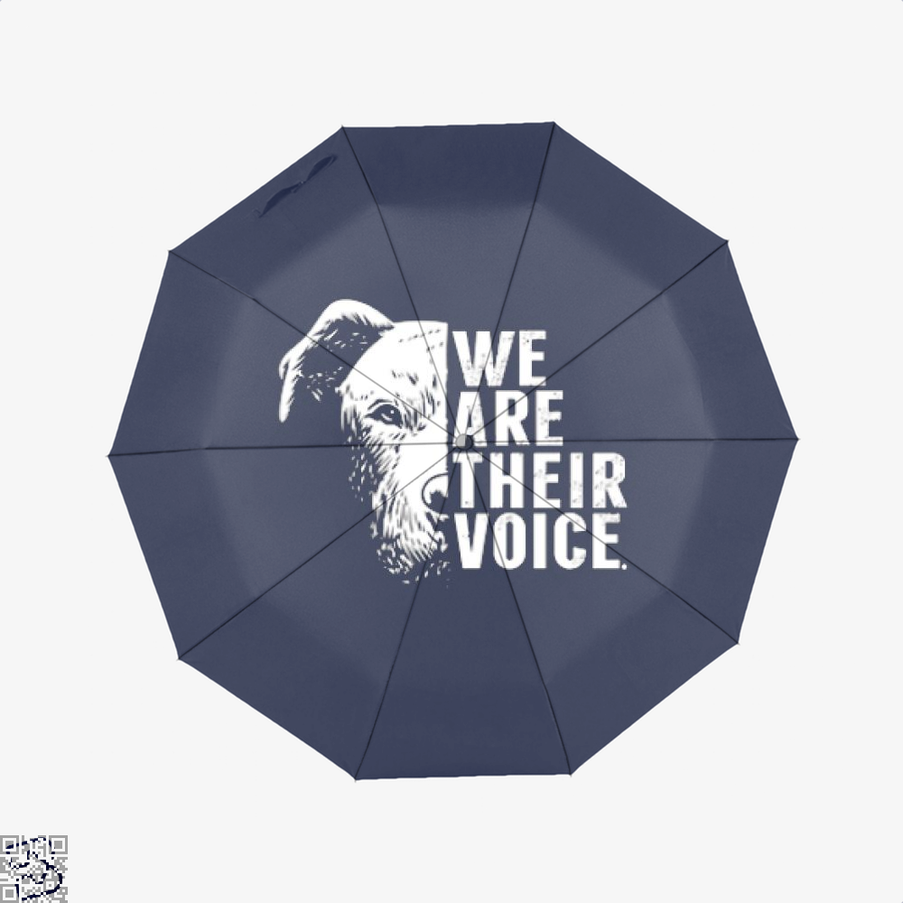The Pitbull We Are Their Voice Umbrella - Productgenjpg