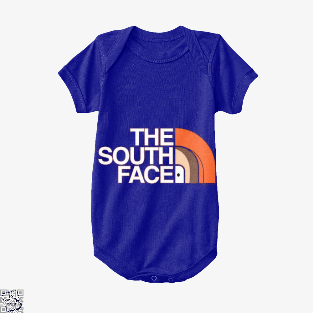 The South Face Park Baby Onesie - Navy / 0-3 Months - Productgenapi