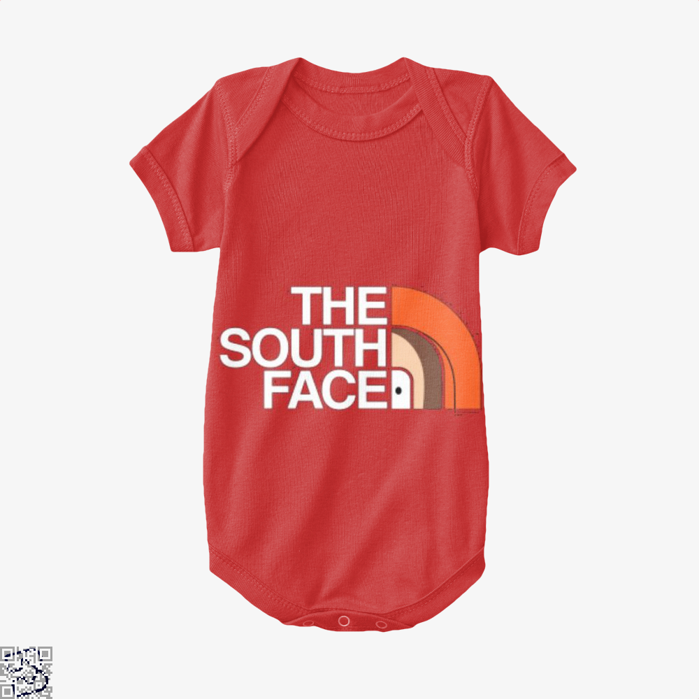 The South Face Park Baby Onesie - Red / 0-3 Months - Productgenapi