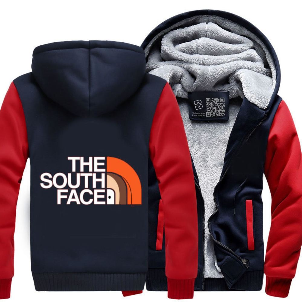 The South Face Park Fleece Jacket - Red / X-Small - Productgenapi