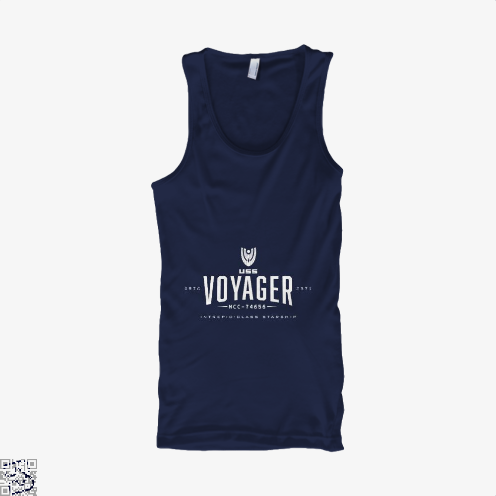 The Voyager Star Wars Tank Top - Women / Blue / Small - Productgenapi