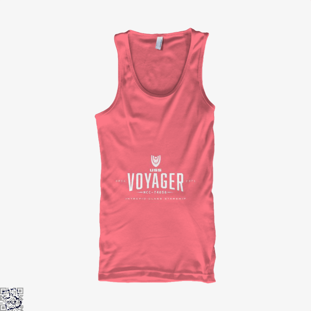 The Voyager Star Wars Tank Top - Women / Pink / Small - Productgenapi