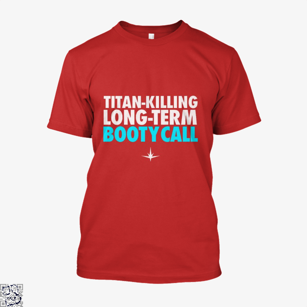 Titan Killing Long Term Booty Call Avengers Infinity War Shirt - Men / Red / X-Small - Productgenapi