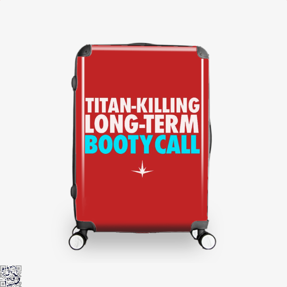 Titan Killing Long Term Booty Call Avengers Infinity War Suitcase - Red / 16 - Productgenapi