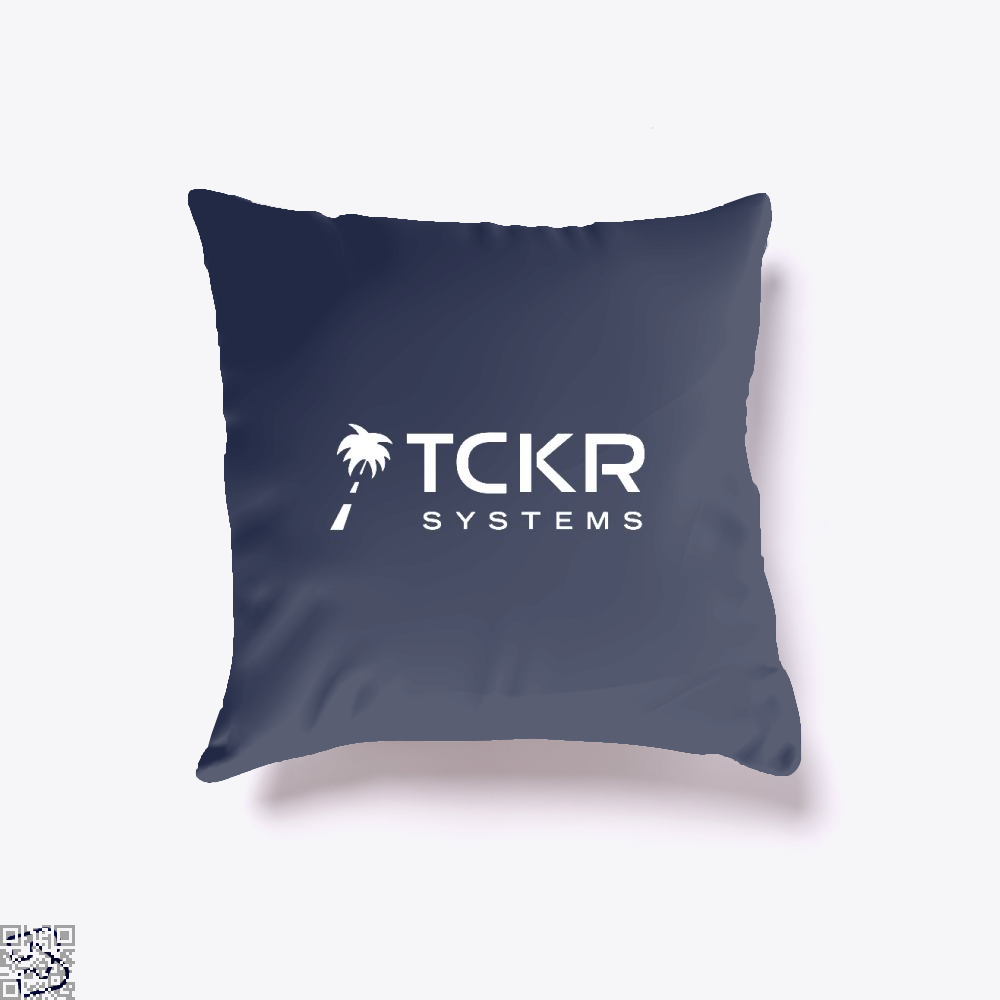 Tomorrows Technology Black Mirror Throw Pillow Cover - Blue / 16 X - Productgenjpg