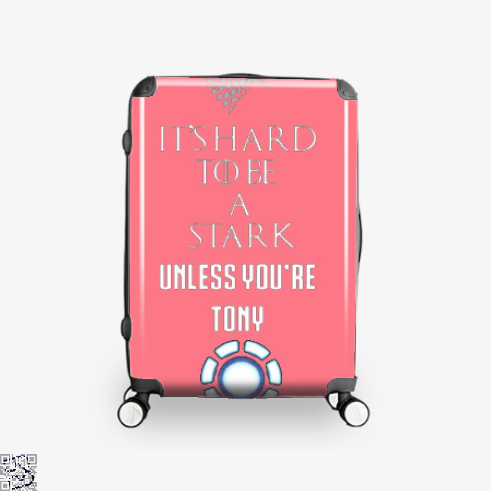 Tony Stark Game Of Thrones Of Suitcase - Pink / 16 - Productgenjpg