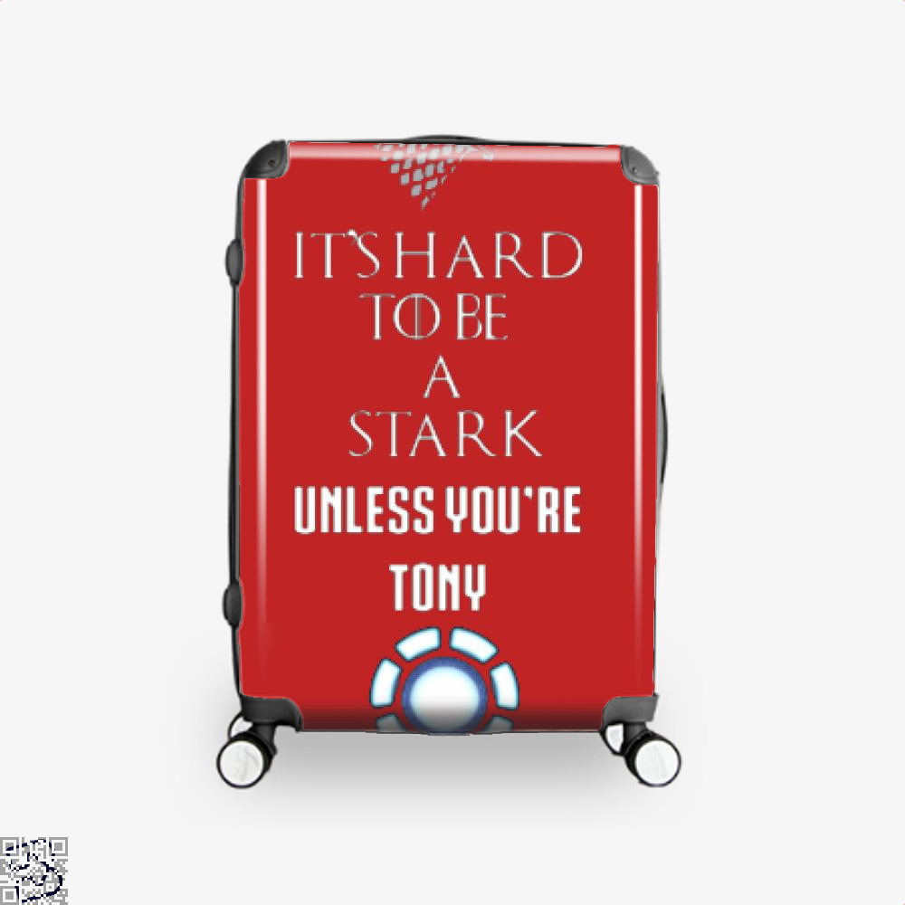 Tony Stark Game Of Thrones Of Suitcase - Red / 16 - Productgenjpg