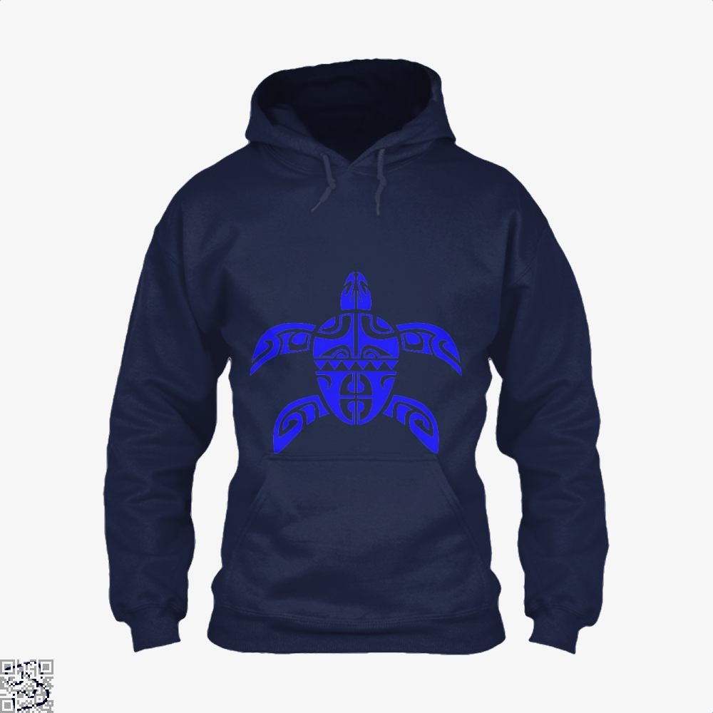 Tribal Seas Sea Turtles Hoodie - Blue / X-Small - Productgenjpg