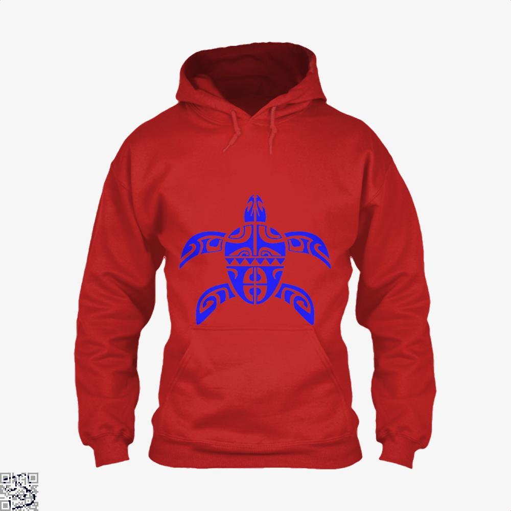 Tribal Seas Sea Turtles Hoodie - Red / X-Small - Productgenjpg
