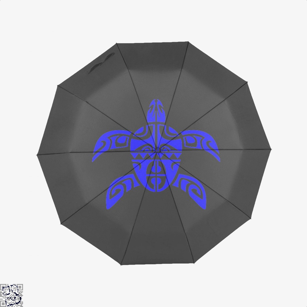 Tribal Seas Sea Turtles Umbrella - Black - Productgenjpg