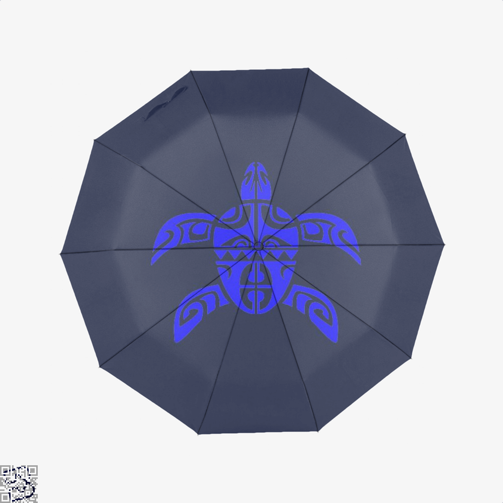 Tribal Seas Sea Turtles Umbrella - Blue - Productgenjpg