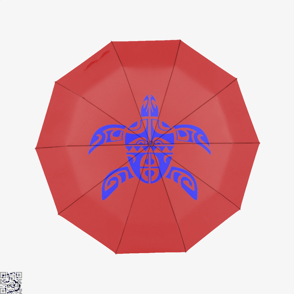 Tribal Seas Sea Turtles Umbrella - Red - Productgenjpg