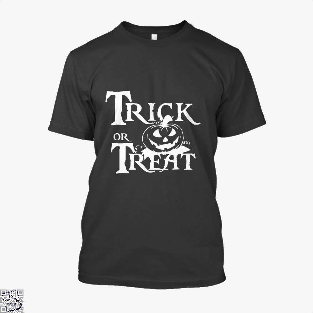 Trick Or Treat Halloween Shirt - Men / Black / X-Small - Productgenjpg