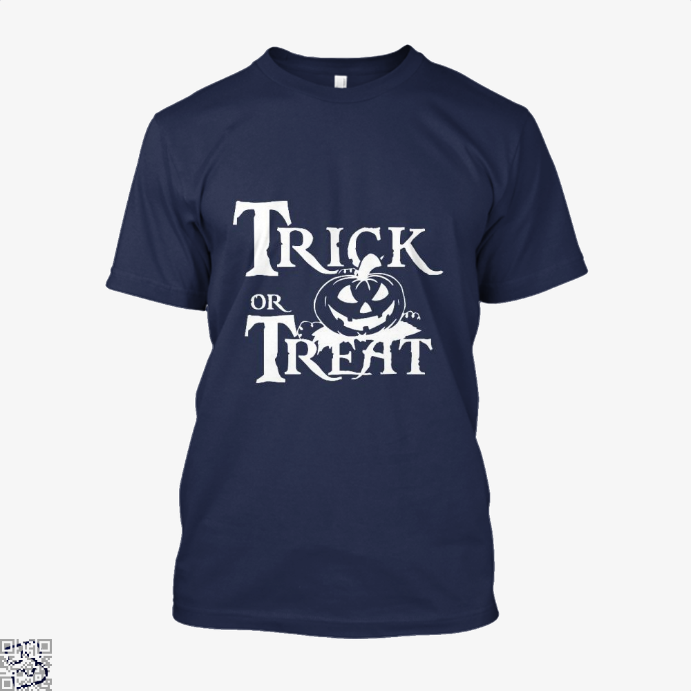 Trick Or Treat Halloween Shirt - Men / Blue / X-Small - Productgenjpg